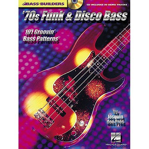 Bass Builders: 70s Funk and Disco Bass. Partitions, CD pour Guitare Basse, Tablature Basse
