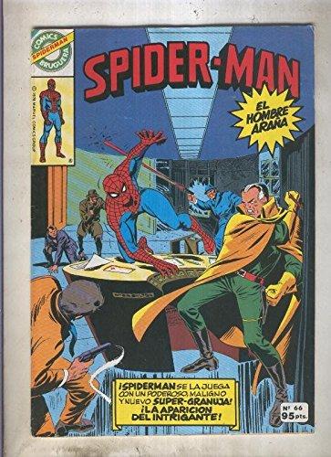 Comics Bruguera: Spiderman numero 66 (numerado 1 en trasera)