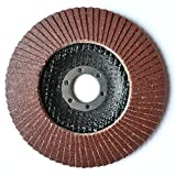 2unidades 125mm Flap Disco para amoladora angular P60–Plato de lija