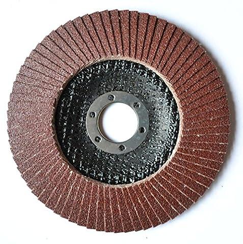 Disque Meuleuse Poncage - 2pièces Ensemble de Flap Disk P80Disque abrasif