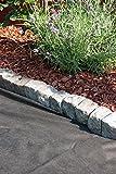 Gartenvlies, Unkrautvlies, Anti-Unkrautvlies, biologische Bekämpfung von Unkraut, umweltfreundliche Unkrautfolie aus Polypropylen, natürliches Bodengewebe (1 x 10 m gefaltet, Schwarz)