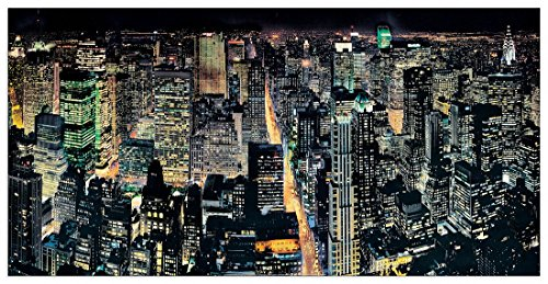 silberman-nyc-from-the-empire-state-building-panneaux-mdf-100x50-cm