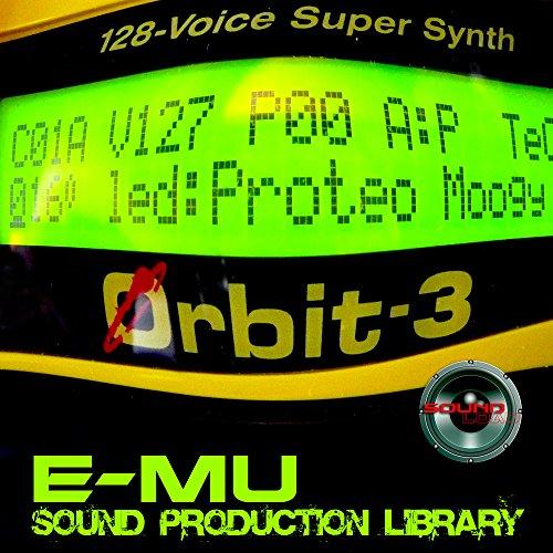 E-mu Orbit 3 - THE King of Dance Modules - Large Original 24bit Multi-Layer WAVe/Kontakt Samples/Loops Studio Library; FREE USA Continental Shipping on DVD or download Sonar Modul