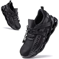 Safety Shoes Men Steel Toe Cap Safety Trainers Womens Anti Slip Work Boots Unisex Protective Lightweight Breathable…