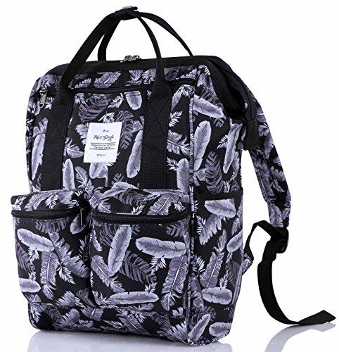 HotStyle DISA Tropisch Damen Rucksack mit Laptopfach 14 Zoll (Outfit Mädchen Günstige Schule)