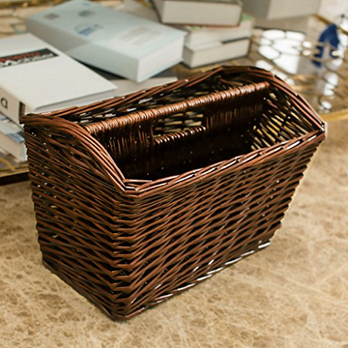 WTL Storage basket Basket archiviazione Rattan mano Basket libri e