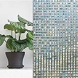 Vinilo electrostatico autoadhesivo dieño mosaico cristal para ventanas, puertas, mamparas, alacenas, armarios, bodegas de CHIPYHOME