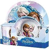 Disney 125824 - Frozen Melamine Satz, mehrfarbig