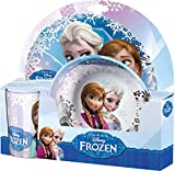 BBS 125824 - Frozen Mealtime Set Big con Bicchiere PS, 2 Pezzi in Melammina