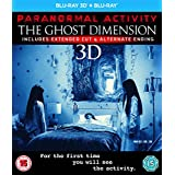 Paranormal Activity: The Ghost Dimension (Blu-ray 3D + Blu-ray) [2015] UK-Import, Sprache-Englisch.