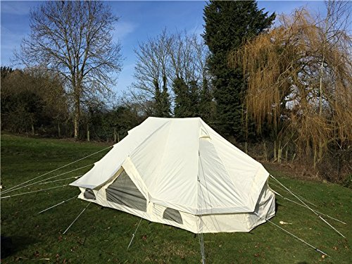 Canvastentshop Meadow tent Bell tent glamping 6 x 4M 1