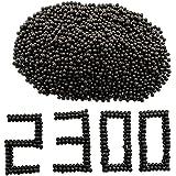 GM&BW 2300 Piezas Tirachinas Bolas Arcillas Barro en 9,5mm