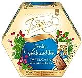 Feodora Weihnachts-Täfelchen Vollmilch-Hochfein 225g, 4er Pack (4 x 225 g)