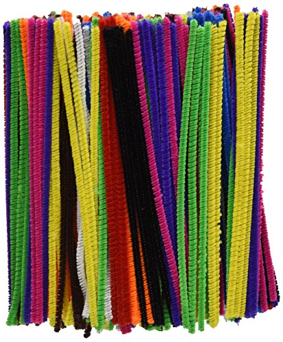 Creation Station 150 x 4 mm Pipe Cleaners  Assorted Colours