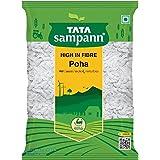 Tata Sampann High in Fibre White Thick Poha, 500g