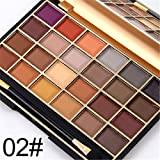 Pure Vie® 24 Colores Sombra De Ojos Paleta de Maquillaje Cosmética #2 - Perfecto para Sso Profesional y Diario