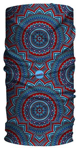 Han® Originals urbanas Bufanda, Unisex, Color Mandala Grana, tamaño Talla única