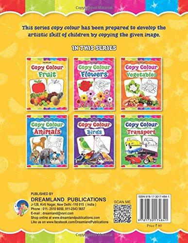 Copy Colour: Fruits (Copy Colour Books)
