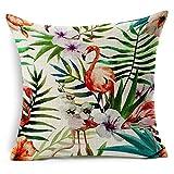 Bluelans� Linen Bird Throw Pillow Case Sofa Cushion Cover Home Decor (#2)