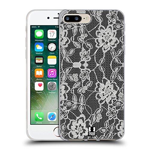 Head Case Designs Pédale Amants De Vélo Étui Coque en Gel molle pour Apple iPhone 5 / 5s / SE Fleuri