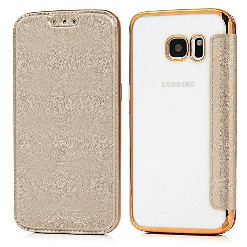 Galaxy S7 edge Custodia Flip,YOKIRIN Custodia Libro per Custodia per