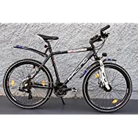 "26"" Zoll MTB Cross Fahrrad Bike SHIMANO 21 Gang StVZO DISC - RACING Design"