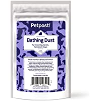Petpost   Chinchilla Bath Dust for Small Animals - Natural, Pure Cleansing Pumice Sand for Cleaning Degus, Hamsters…