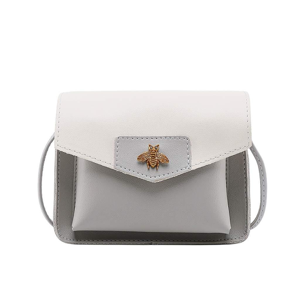 61e6VG6TA2L - Luckycat Bolsos De Hombro Bandolera De Piel Bolsa Mano Moda Para Mujer Bolsos Mochilas para mujer Bolsas de mensajero…