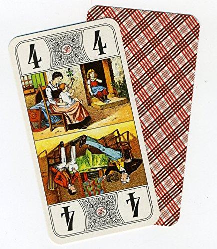 Piatnik–1949.0–Juego de 78Tarjetas de Collection sobre Tarot standard