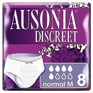 Ausonia Discreet Pants Normal M Höschen für Vlieseinlage–8Stück