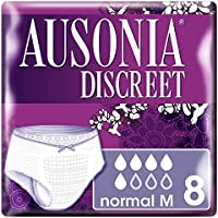 Ausonia Discreet Pants Normal M Braguitas para Pérdidas de Orina - 8 unidades