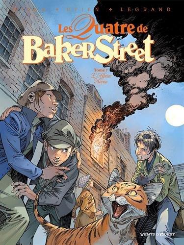 Les Quatre de Baker Street - Tome 07: L'Affaire Moran par Jean-Blaise Djian