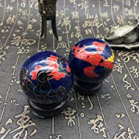 Chinesische Traditionelle Fitness-Ball Dekompression Handball Blau Drachen Und Phönix 50mm450g preisvergleich bei billige-tabletten.eu