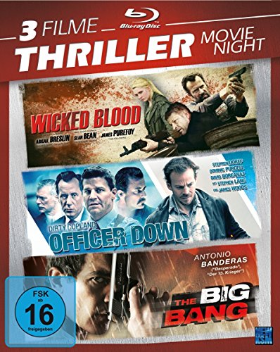 Thriller Movie Night 2 [3 Disc Set] [Blu-ray]