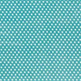 Fabulous Fabrics Satin Druck Punkte (1 mm) 7 – türkisblau — Meterware ab 0,5m — zum Nähen von Blusen und Hemden und Kleidern