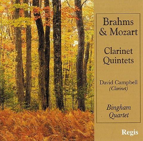 Brahms, Mozart : Quintettes pour clarinette.
