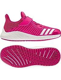 adidas FortaRun EL K - Zapatillas de deportepara niños, Rosa - (ROSFUE/FTWBLA/ROSIMP), 34