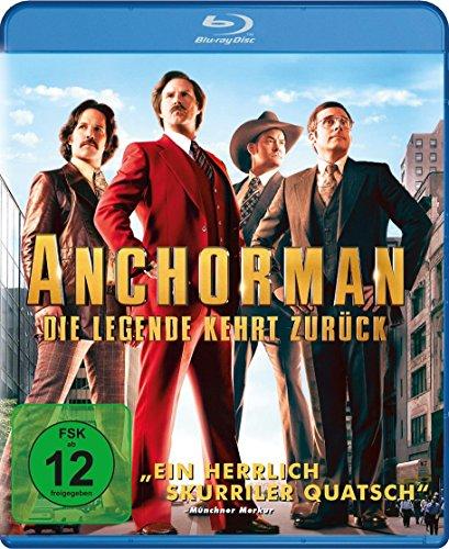 Anchorman - Die Legende kehrt zurück [Blu-Ray]