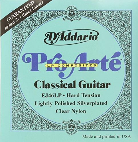 DADDARIO EJ46LP   JUEGO DE CUERDAS PARA GUITARRA CLASICA   0285  045 (TENSION ALTA)