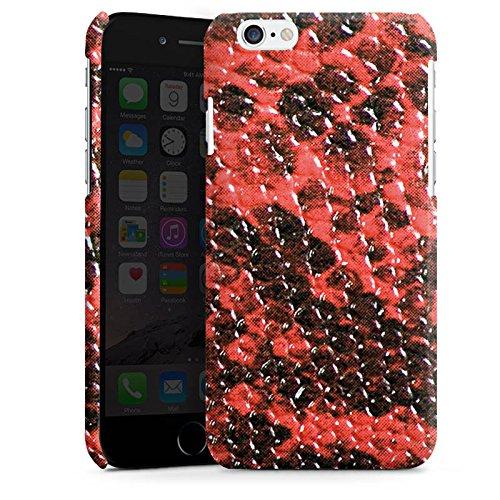 Apple iPhone 5s Housse Étui Protection Coque Peau de serpent Look Serpent Cas Premium brillant