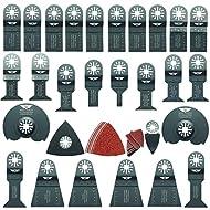 68x topstools unk68sk Mix Klingen für Bosch, Fein Multimaster, Multitalent, Makita, Milwaukee, Einhell, ergotools, Hitachi, Parkside, Ryobi, Worx, Workzone Multitool Multi Tool Zubehör