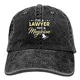 Walnut Cake Hüte,Kappen Mützen I Am A Lawyers Denim Hat Adjustable Unisex Classic Baseball Caps