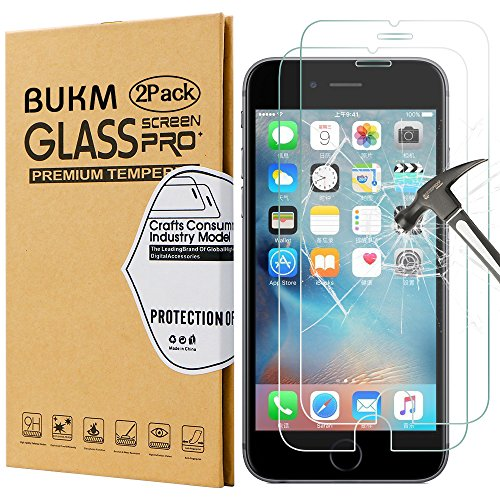 iphone-6s-screen-protectorbukm-premium-tempered-glass-screen-protector-47-inchhigh-definitionbubble-