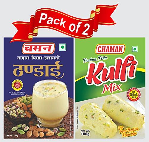 Combo Pack Of Thandai (200g) N Kulfi (100g)