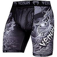 Venum Minotaurus Pantalones Cortos de Compresión, Hombre, Negro, S