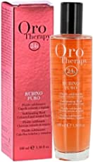 Fanola Oro Therapy Rubino Puro - Sublimating fluid - Coloured and treated hair - für gefärbtes und chemisch behandeltes Haar, 100 ml