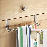 2 x Kitchen Cupboard Over The Cabinet Hand Towel Hanger Hook Storage Solution