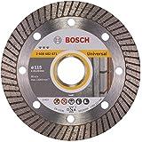 Bosch 2 608 602 671  - Disco de corte de diamante Best for Universal Turbo - 115 x 22,23 x 2,2 x 12 mm (pack de 1)