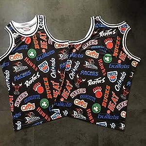 YB-DB Basketball-Trikots – Alle Teams verwenden Retro-Standard-Digitaldruck, Cooles, atmungsaktives Material und Herren-Trikots, Damen-Trikots