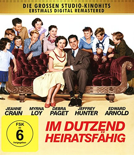Im Dutzend heiratsfähig - Digital remastered [Blu-ray]